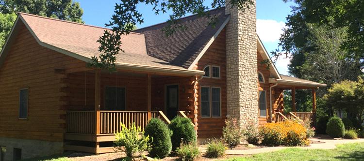 Log Home Log Repairs